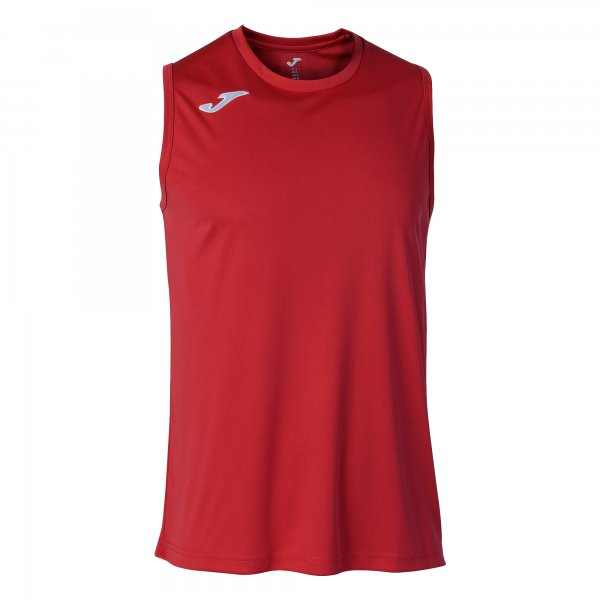 JOMA COMBI BASKET T-SHIRT RED SLEEVELESS
