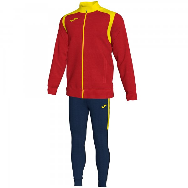 JOMA TRACKSUIT CHAMPION V RED-YELLOW