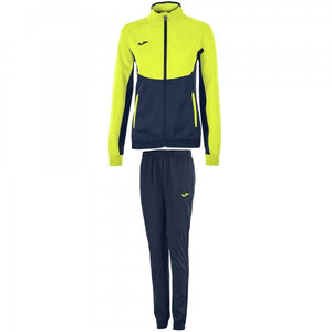 JOMA TRACKSUIT ESSENTIAL MICRO NAVY-FLUOR YELLOW WOMAN