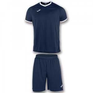 JOMA SET ACADEMY NAVY-WHITE S/S