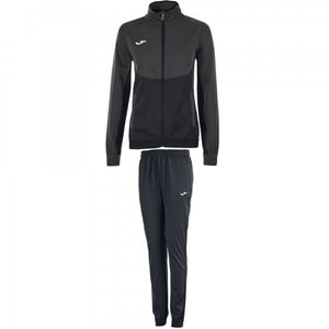 JOMA TRACKSUIT ESSENTIAL MICRO ANTHRACITE-BLACK WOMAN