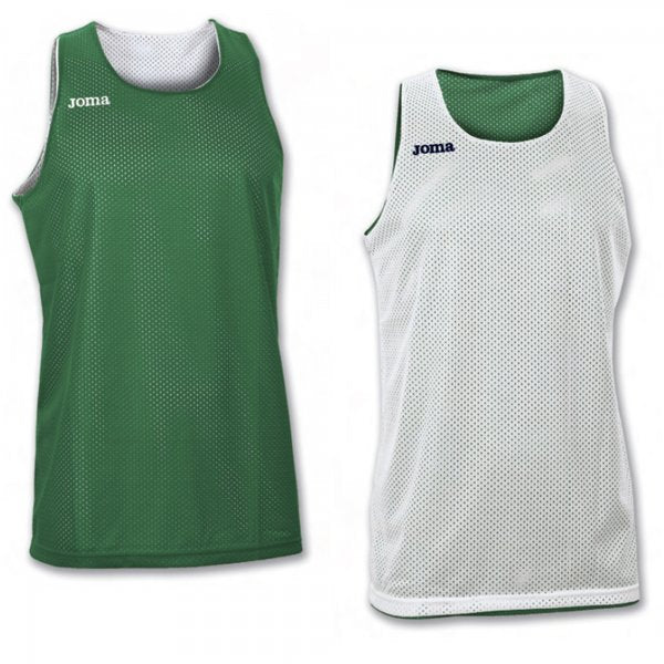 JOMA REVERSIBLE BASKETBALL T-SHIRT INCORPORATING MICRO-MESH TECHNOLOGY