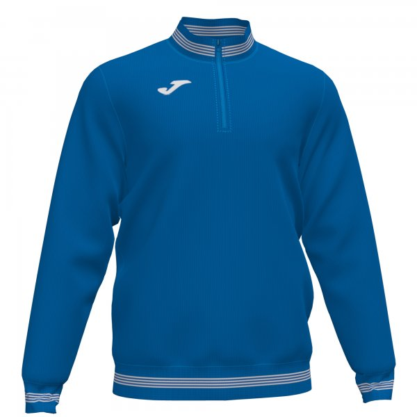 JOMA CAMPUS III SWEATSHIRT 1/2 ZIPPER ROYAL