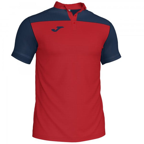 JOMA POLO SHIRT COMBI RED-NAVY S/S