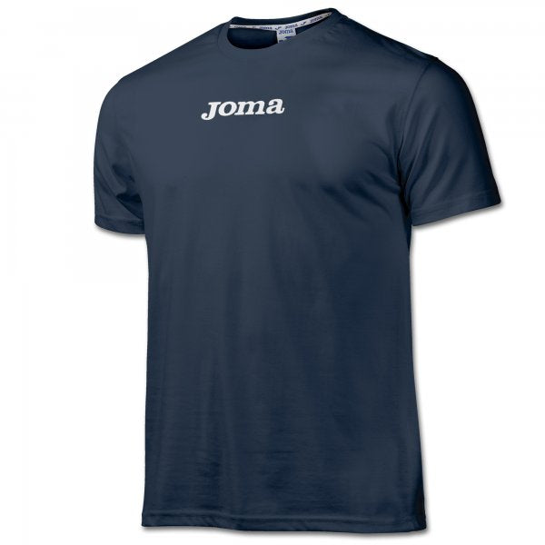 JOMA LILLE T-SHIRT COTTON NAVY S/S -PACK 10-