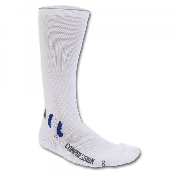 JOMA SOCK LONG COMPRESSION WHITE -PACK 12-