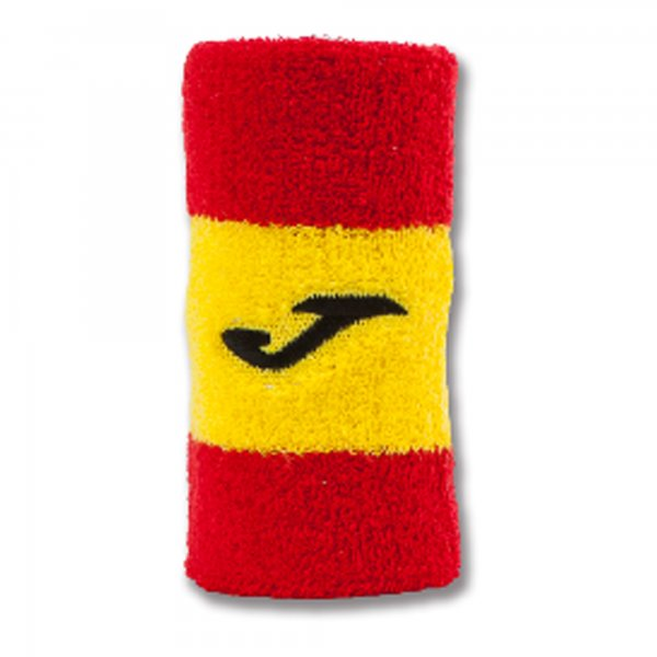 JOMA WRISTBAND RED-YELLOW-RED -PACK 12-