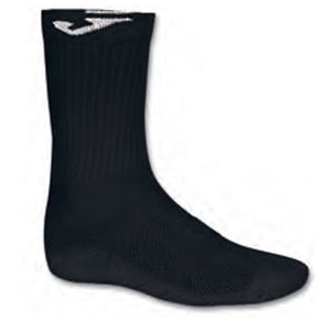 JOMA LARGE SOCK BLACK -PACK 12 PRS-