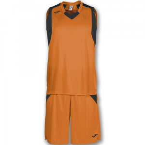 JOMA SET FINAL ORANGE-BLACK SLEEVELESS