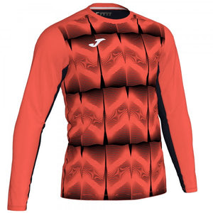 JOMA DERBY IV GOALKEEPER SHIRT FLUOR CORAL L/S