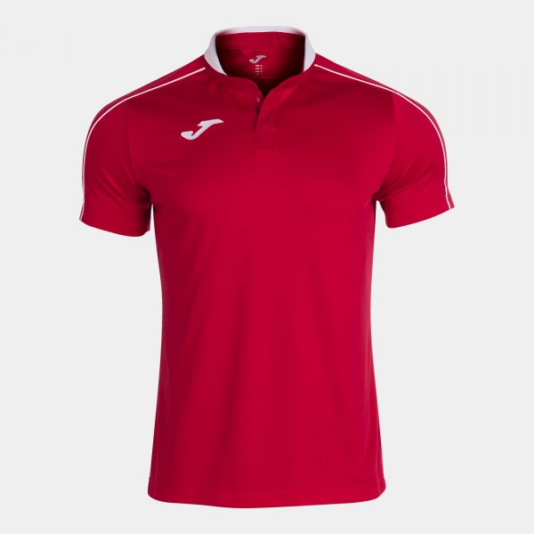 JOMA SCRUM SHORT SLEEVE POLO RED