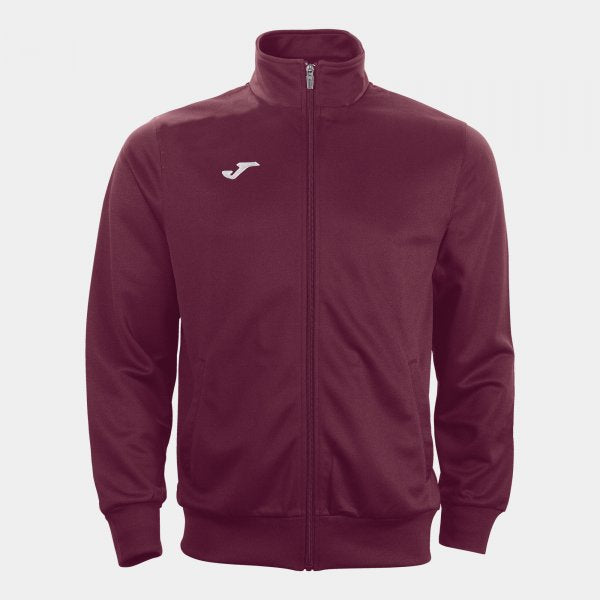 JOMA OPEN JACKET WITH ZIPPPER AND RIBBING AT CUFFS AND WAIST FOR OPTIMAL FIT. ZIPPED SIDE POCKETS.