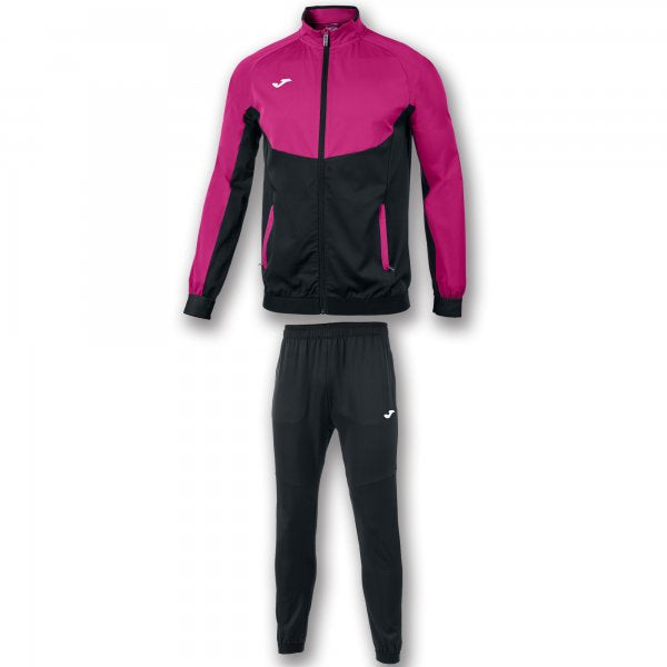 JOMA TRACKSUIT ESSENTIAL MICRO BLACK-PINK