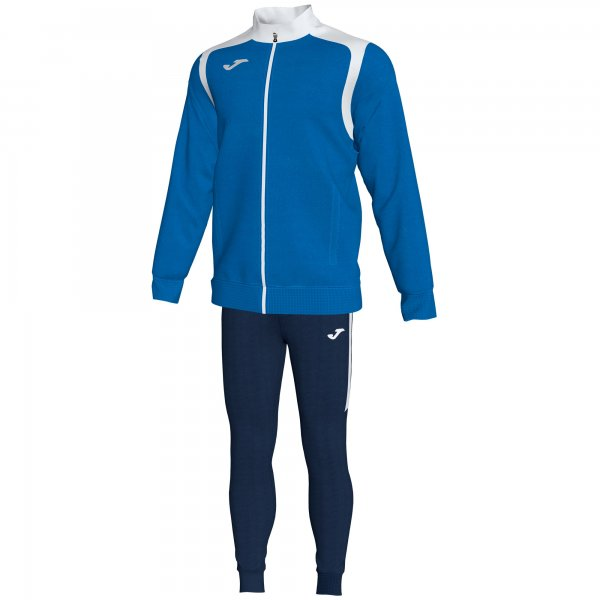 JOMA TRACKSUIT CHAMPION V ROYAL-WHITE