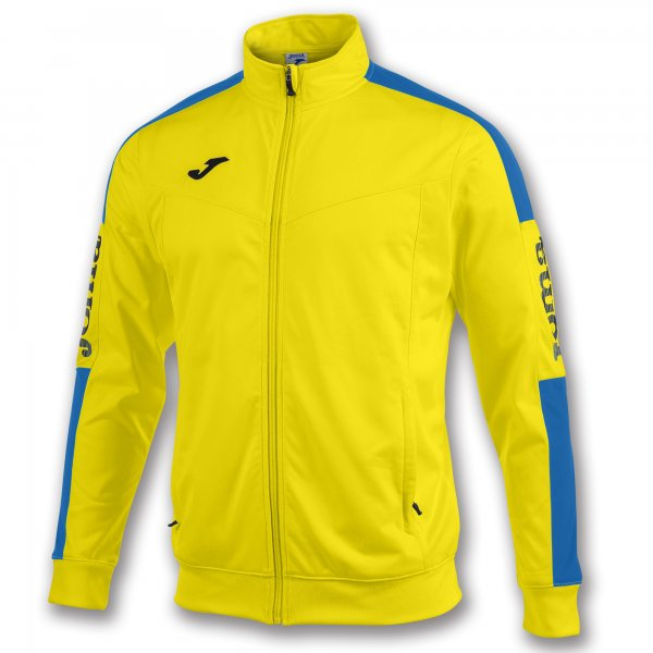 JOMA JACKET CHAMPIONSHIP IV YELLOW-ROYAL