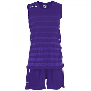 JOMA SET SPACE II WOMAN PURPLE SLEEVELESS