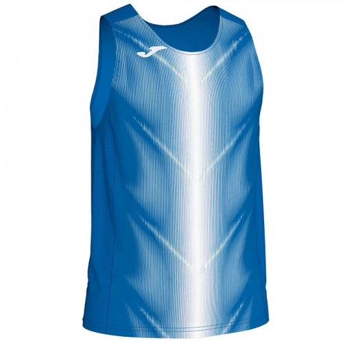 JOMA T-SHIRT CAMPUS III ROYAL-WHITE SLEEVELESS