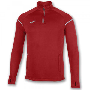 JOMA SWEATSHIRT 1/2 ZIPPER RACE RED