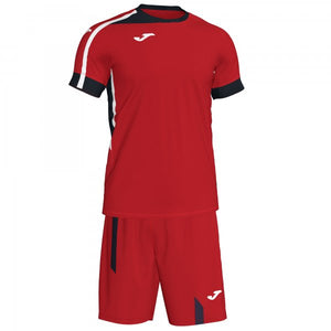JOMA ROMA II SET RED-BLACK S/S