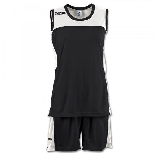 JOMA SET SPACE II WOMAN BLACK SLEEVELESS