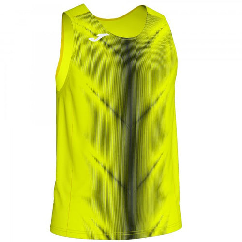 JOMA OLIMPIA T-SHIRT FLUOR YELLOW-BLACK SLEEVELESS