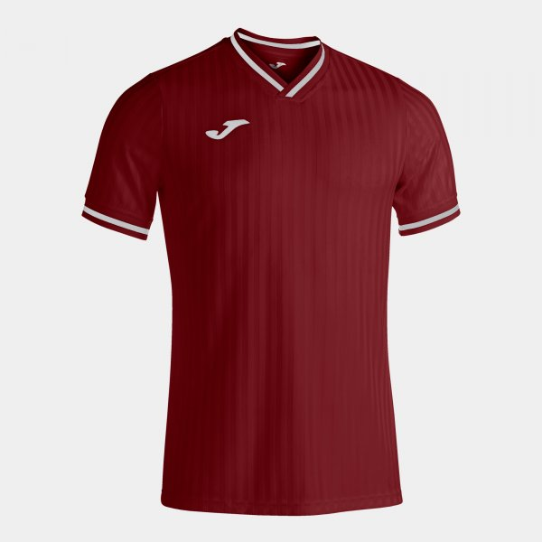 JOMA TOLETUM III SHORT SLEEVE T-SHIRT BURGUNDY