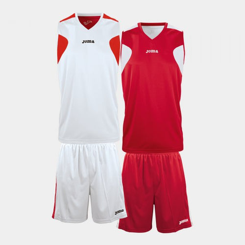 JOMA V-NECK BASKETBALL T-SHIRT CHARACTERISED BY ITS REVERSIBLE DESIGN