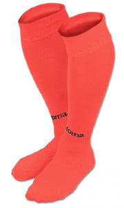 JOMA FOOTBALL SOCKS CLASSIC DARK FLUOR ORANGE -PACK 4-