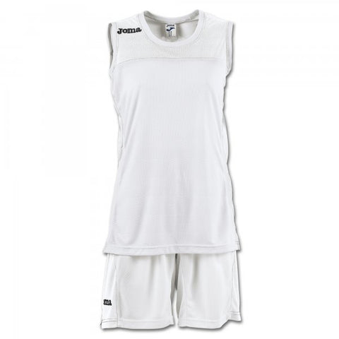 JOMA SET SPACE II WOMAN WHITE SLEEVELESS