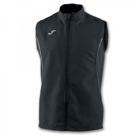 JOMA VEST RECORD II BLACK SLEEVELESS