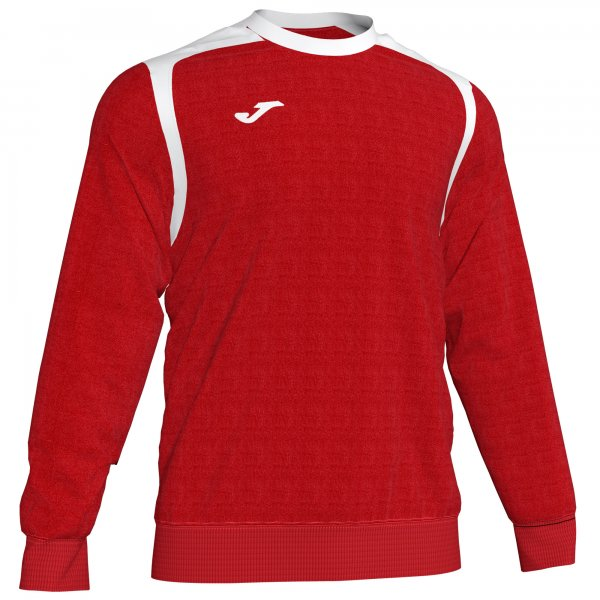 JOMA SWEATSHIRT CHAMPION V RED-WHITE