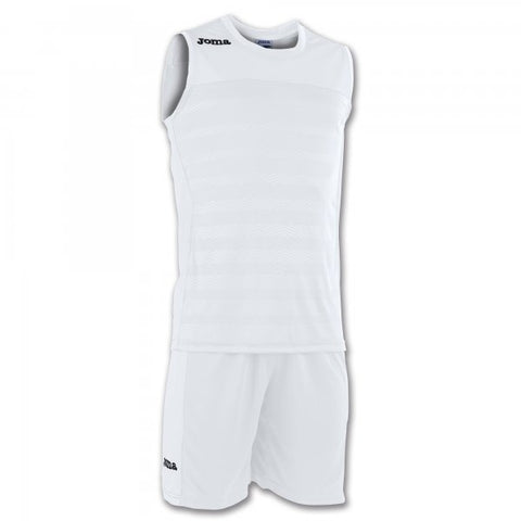 JOMA SET SPACE II WHITE SLEEVELESS
