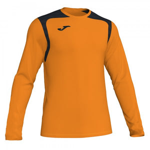 JOMA T-SHIRT CHAMPIONSHIP V ORANGE-BLACK L/S