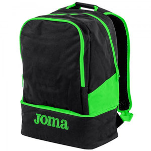 JOMA BACKPACK ESTADIO III BLACK-FLUOR GREEN