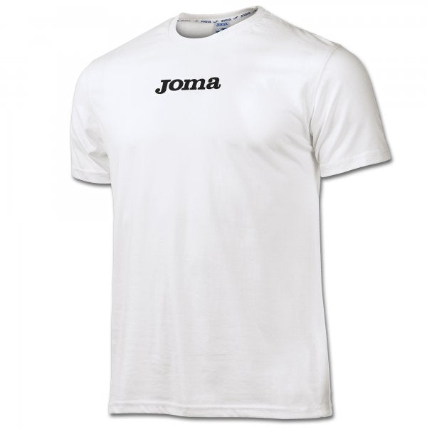 JOMA LILLE T-SHIRT COTTON WHITE S/S -PACK 10-