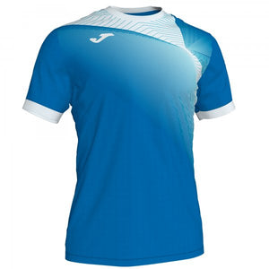 JOMA HISPA II T-SHIRT ROYAL-WHITE S/S