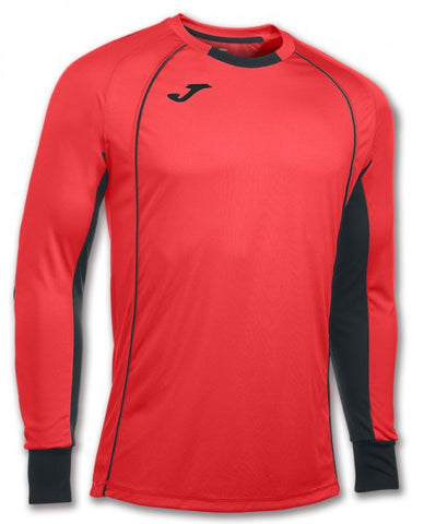 JOMA T-SHIRT GOALKEEPER PROTEC CORAL FLUOR L/S