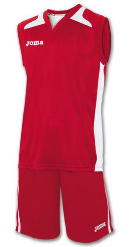 JOMA SET CANCHA RED JERSEYSHORT