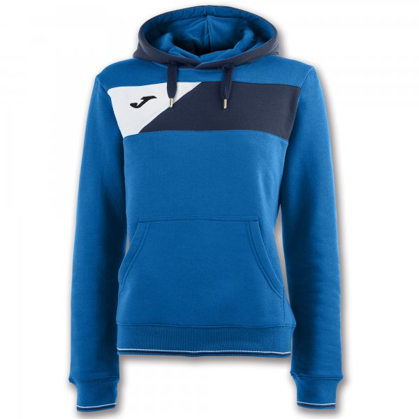JOMA HOODIE SWEATSHIRT CREW II ROYAL WOMAN