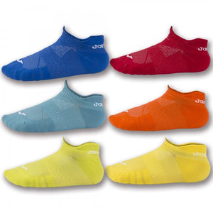 JOMA INV SOCKS 2ROY-ORA-GRE-RED-YEL-GREY -PACK 12-