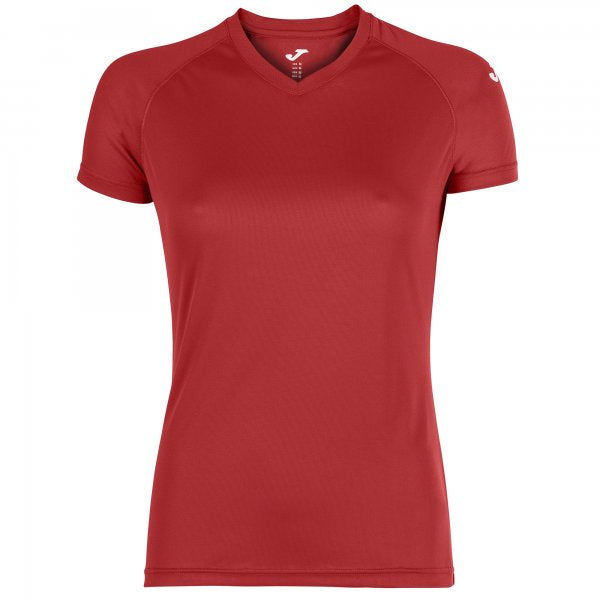 JOMA EVENT T-SHIRT RED S/S WOMAN PACK 25