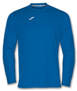 JOMA T-SHIRT COMBI ROYAL L/S