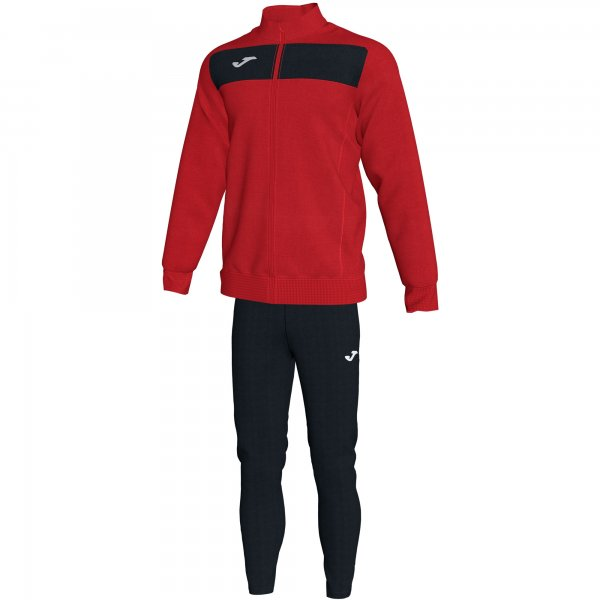 JOMA TRACKSUIT ACADEMY II RED-BLACK