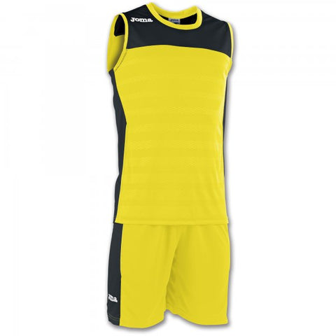 JOMA SET SPACE II YELLOW SLEEVELESS