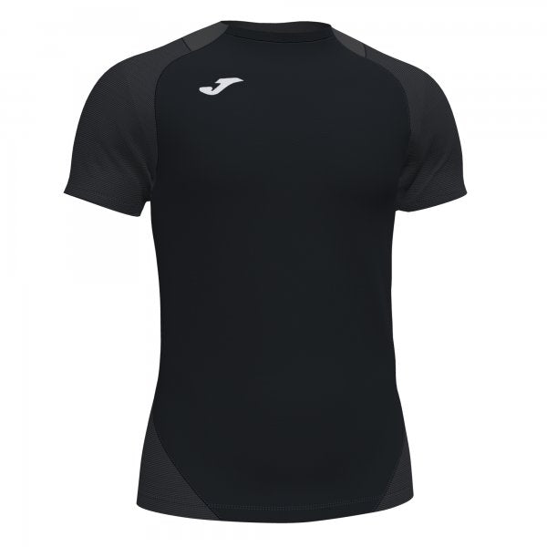 JOMA ESSENTIAL II T-SHIRT BLACK-ANTHRACITE S/S
