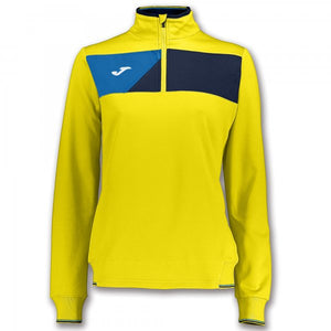 JOMA SWEATSHIRT CREW II YELLOW-NAVY WOMAN