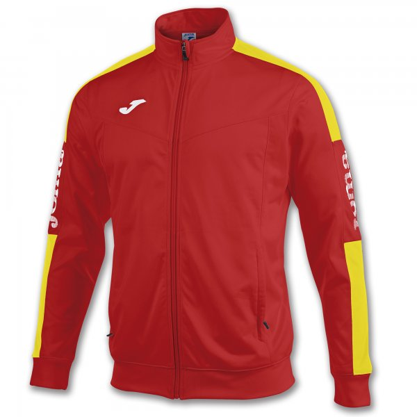 JOMA JACKET CHAMPION IV RED-YELLOW