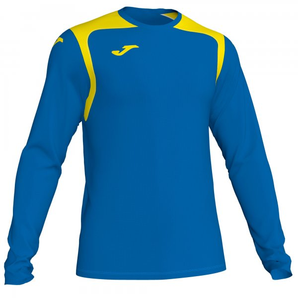 JOMA T-SHIRT CHAMPION V ROYAL-YELLOW L/S