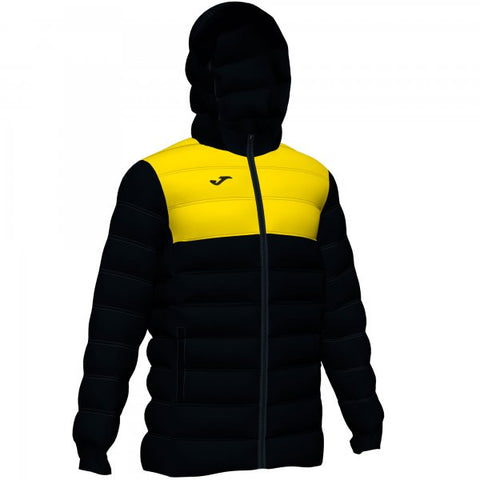 JOMA URBAN II WINTER JACKET BLACK-YELLOW