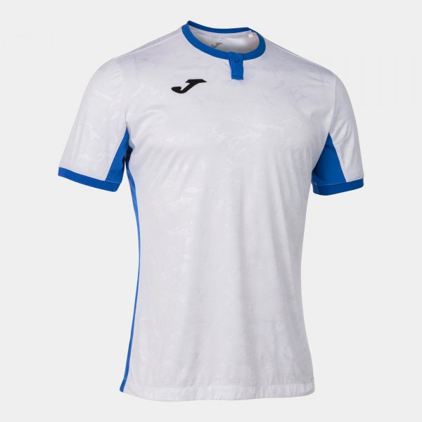 JOMA TOLETUM II T-SHIRT WHITE-ROYAL S/S
